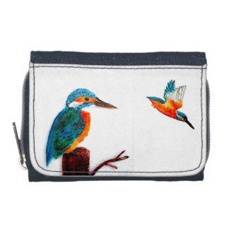 Färgrika fågelplånbokKingfishers
