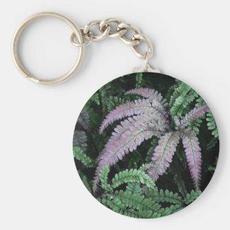 Färgrika Ferns Rund Nyckelring