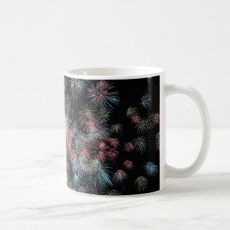 Färgrika fyrverkerier… kaffemugg