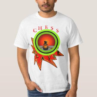 Färgrika Geeky gåvor för rolig schackSTEMTshirt T-shirts