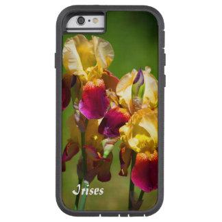 Färgrika Irises Tough Xtreme iPhone 6 Case