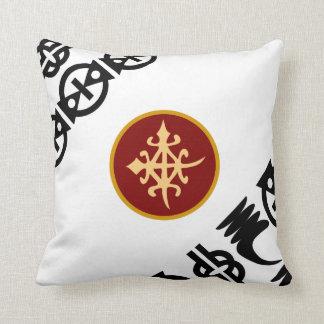 Färgrika kastKudde-Afrikan Adinkra symboler Kudde