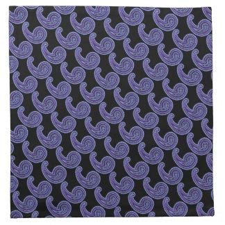 Färgrika lilor för Violet för vintagePaisley laven Tygservett