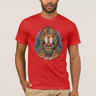 Färgrika Mandrill T-shirts