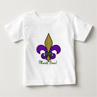 Färgrika Mardi Gras Fleur De Lis T-shirts