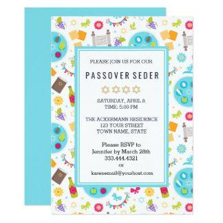 Färgrika moderna påskhögtidSedar inbjudningar
