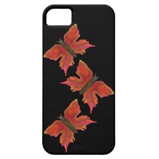 Färgrika nätt fjärilar iPhone 5 skal