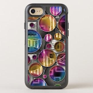 Färgrika Orbs - abstrakt konst OtterBox Symmetry iPhone 7 Skal