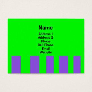 färgrika randar visitkort