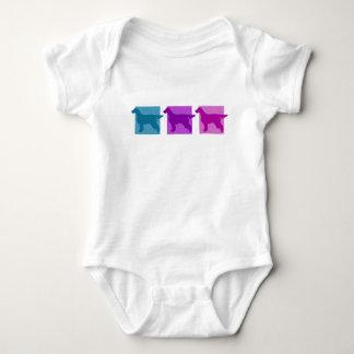 Färgrika Silhouettes för Gordon Setter Tee Shirt