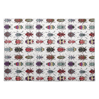Färgrika skalbaggar bordstablett