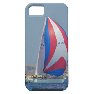 Färgrika tävlings- Spinnakers iPhone 5 Fodraler