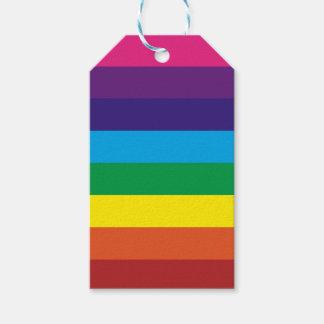 Färgrika tillförsel för party för pack av presentetiketter