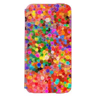 Färgrikt abstrakt blommafodral