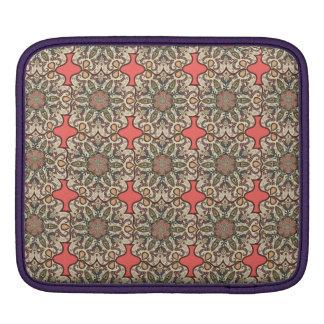 Färgrikt abstrakt etniskt blom- mandalamönster de sleeve för iPads