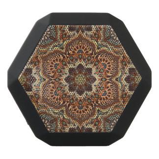 Färgrikt abstrakt etniskt blom- mandalamönster de svart bluetooth högtalare