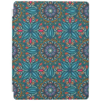 Färgrikt abstrakt etniskt blom- mandalamönster iPad skydd