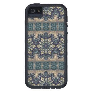 Färgrikt abstrakt etniskt blom- mandalamönster iPhone 5 fodral