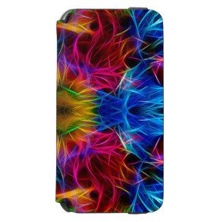 Färgrikt abstrakt mönsterfodral