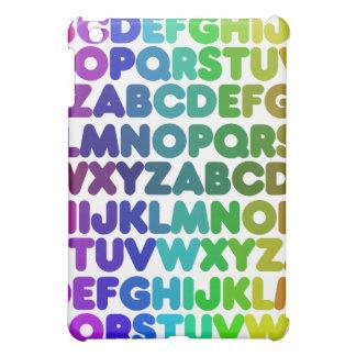 Färgrikt alfabet för en LÄRARE iPad Mini Mobil Skal