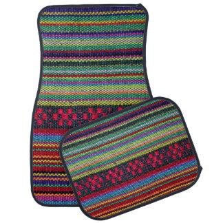 Färgrikt Aztec mönster Bilmatta