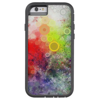 Färgrikt bubblar tough xtreme iPhone 6 case
