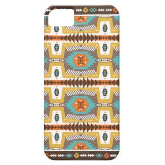 Färgrikt dekorativt mönster i stam- stil barely there iPhone 5 fodral