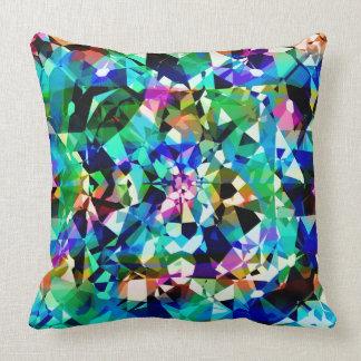 Färgrikt diamantCloseupglitter och Sparkles Dekorativ Kudde