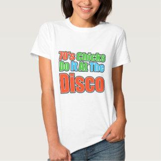 Färgrikt disko t-shirt