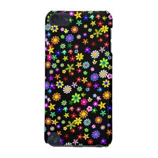 Färgrikt fodral för blommaiPod handlag 5G iPod Touch 5G Fodral