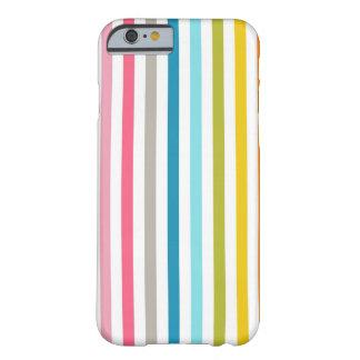 Färgrikt fodral för randar (lodrät) barely there iPhone 6 fodral