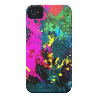 Färgrikt måla iPhone 4 Case-Mate fodraler