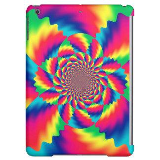 Färgrikt Psychedelic fodral för luft för