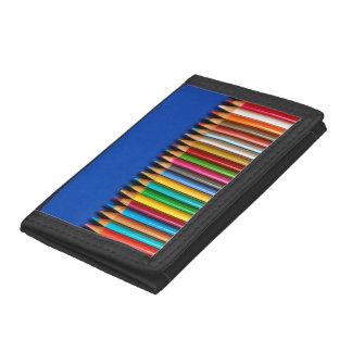 Färgrikt rita crayonplånboken