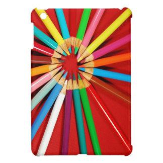Färgrikt rita fodral för kritortryckipad iPad mini mobil skydd