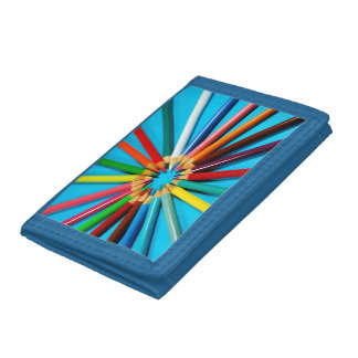 Färgrikt rita kritorplånboken