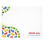 Färgrikt roligt pojke kort för tack för leksakpojk
