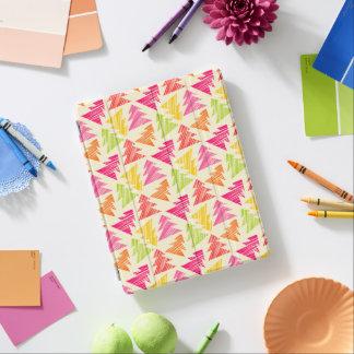 Färgrikt Sketchy julgranmönster iPad Skydd