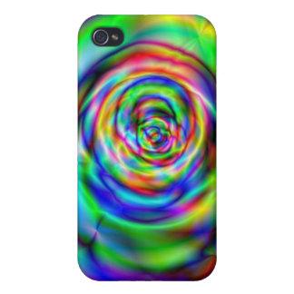 Färgrikt steg iPhone 4 skydd
