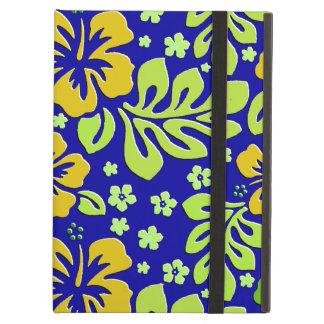 Färgrikt tropiskt blom- iPadluftfodral Fodral För iPad Air