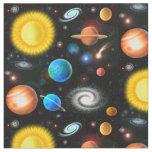 Färgrikt tyg för universumastronomiutrymme