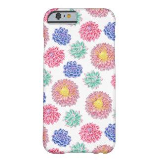 Färgrikt vår blommormönster barely there iPhone 6 skal