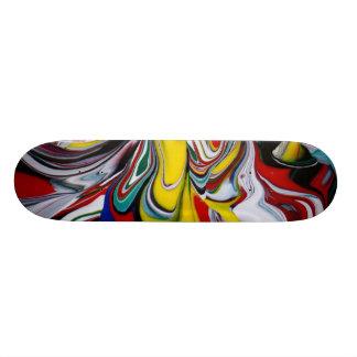 Färgspill Skateboard Bräda 20,5 Cm