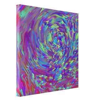 Färgstörning - slågen in kanvastryck