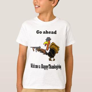 farlig kalkon tee shirt