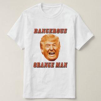 Farlig orange man för Donald Trump skjorta   Tröja