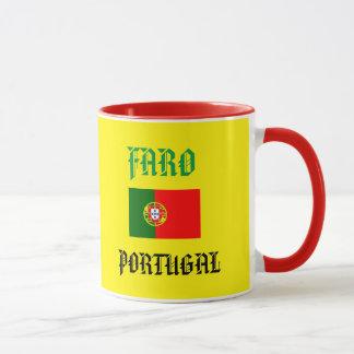 Faro Portugal vapensköldmugg Mugg