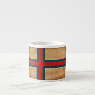 Faroe Island flagga Espressomugg