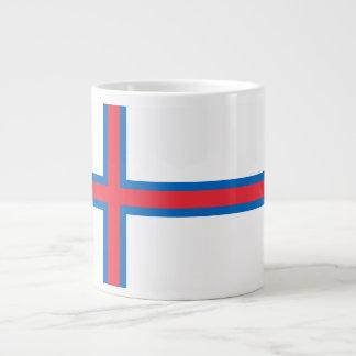 Faroe Island flagga Jumbo Mugg
