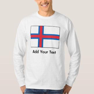 Faroe Island flagga T Shirts
